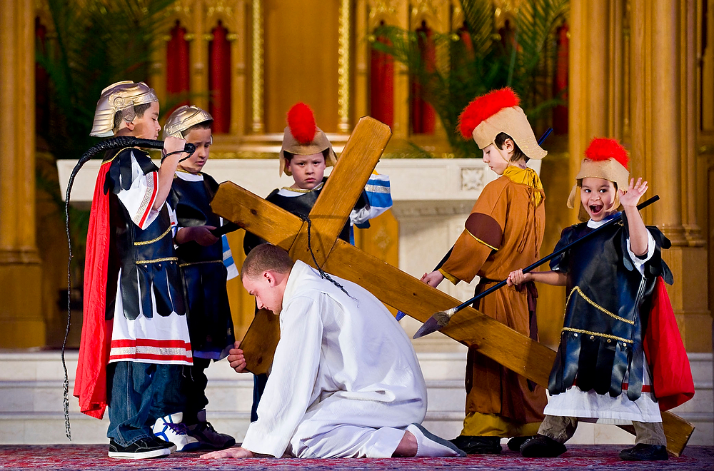 On Assignment: Kids stage Stations of the Cross in Bayonne